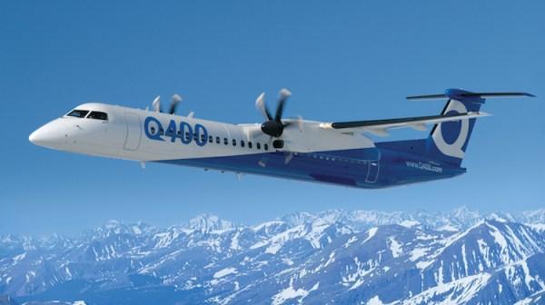 Bombardier Q400 OEMLivery 600x336 - Marca 'De Havilland' volta a voar com nova empresa no Canadá