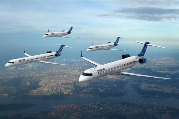 D74ACBE7 9934 4875 B5E2 0C46A6694A1B 600x400 - Mitsubishi Heavy Industries adquire programa Regional Jet da Bombardier