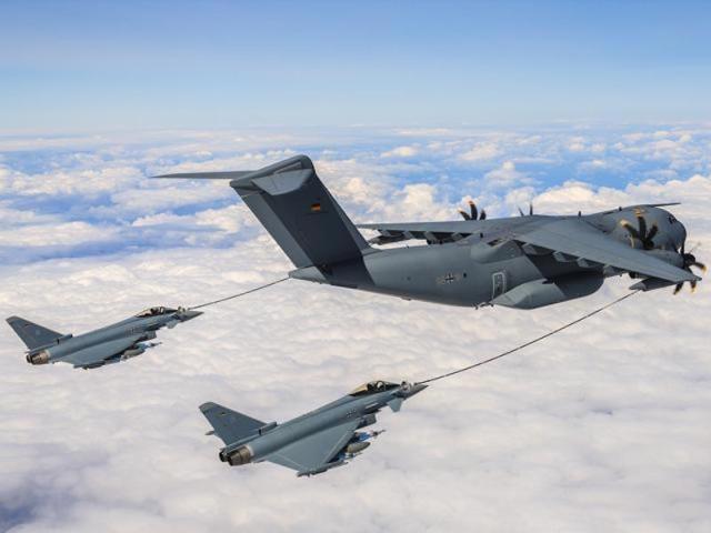 204221 1 - Luftwaffe envia o A400M para missão operacional de reabastecimento aéreo