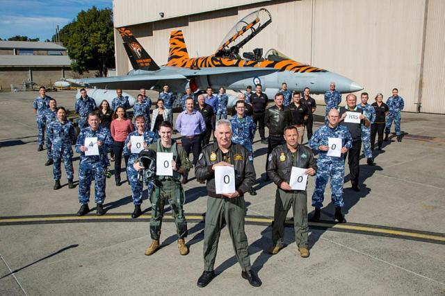 20190816raaf8185068 0015.t5d5a2120.m800.xJbx63CZS - Frota de jatos Hornet da RAAF atinge a marca de 400 mil horas de voo