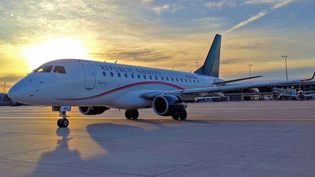 Republic E175 - Republic Airways adiciona 30 aeronaves Embraer E175 na sua frota em parceria com a Delta