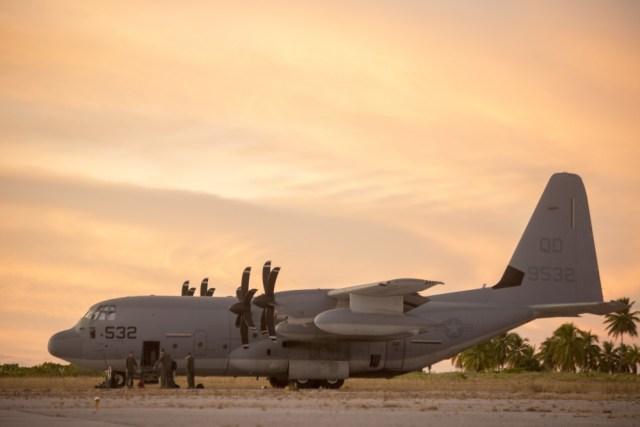 1000w q95 13 - IMAGENS: Fuzileiros Navais dos EUA realizam voo transpacífico com tiltrotores MV-22 Ospreys