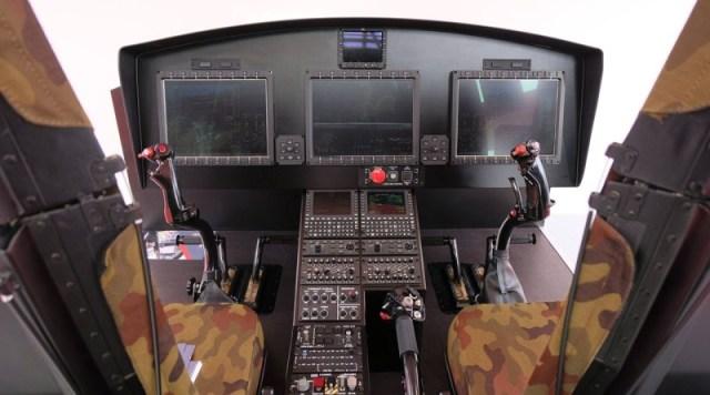 PZL W 3 cockpit concept MSPO 2019 - MSPO: Leonardo apresenta versão militar melhorada do W-3 Sokol