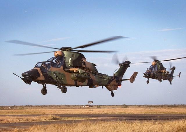 Tiger helicopter - Airbus oferece solução econômica do Tiger para Exército Australiano