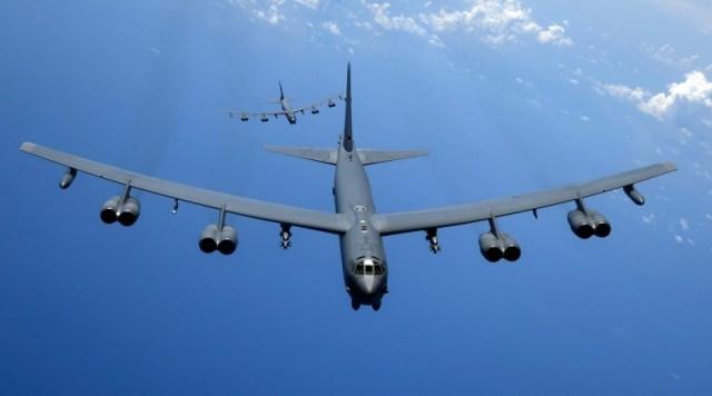 U.S. Air Force B 52H Stratofortress bombers 2 - Rolls-Royce concluiu testes do motor F130 para remotorização do B-52