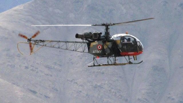 img 5920 - Acidente com helicóptero Cheetah do Exército Indiano