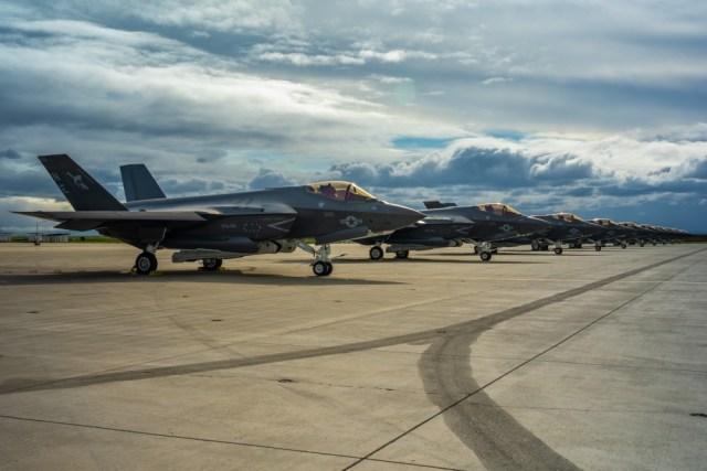 1000w q95 5 - Taxa de disponibilidade de caças F-35 sobe para 73%