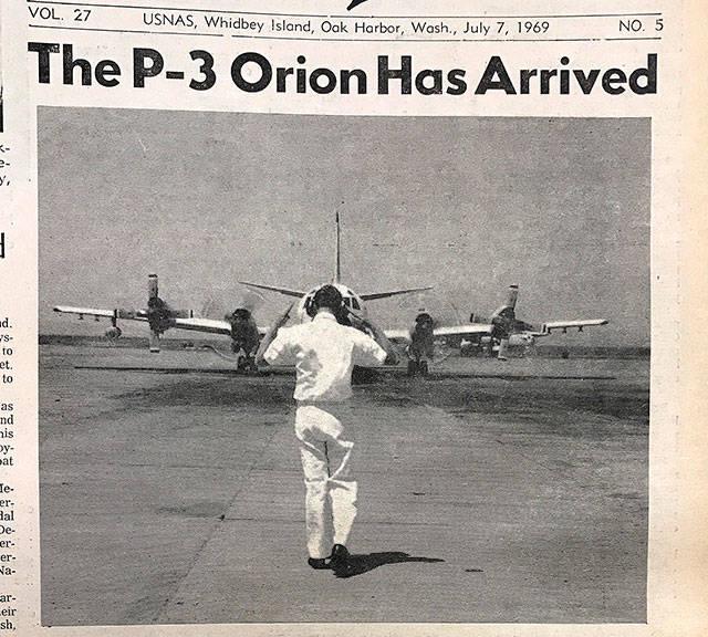 19009588 web1 S Newspaper clipping - FIM DE UMA ERA: Marinha dos EUA aposenta último P-3C Orion no serviço ativo