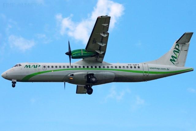 """26905949444 3f0b6d50b2 b - Investigadores analisam incidente com ATR 72 da MAP que ficou """"sem combustível"""""""