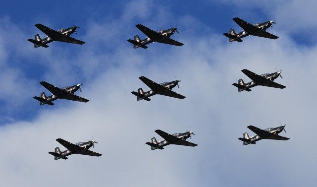 72880465 3127558113937368 6195408191820398592 o 650x383 - Shorts Tucano: O fim de uma era na RAF