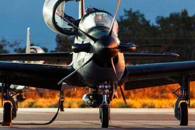 A 29 4 - Embraer A-29 completa 15 anos de operação na FAB