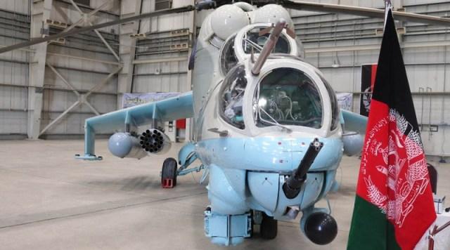 Afghan Mi 24V - Índia entrega segundo lote de helicópteros Mi-24V para o Afeganistão