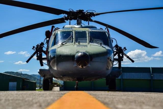 DSC 0021 1 - Esquadrão da FAB realiza campanha de tiro lateral com helicópteros Black Hawk