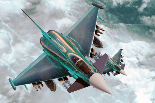 Eurofighter Typhoon 04 2 - Lançado conceito para as futuras ajudas defensivas do Typhoon