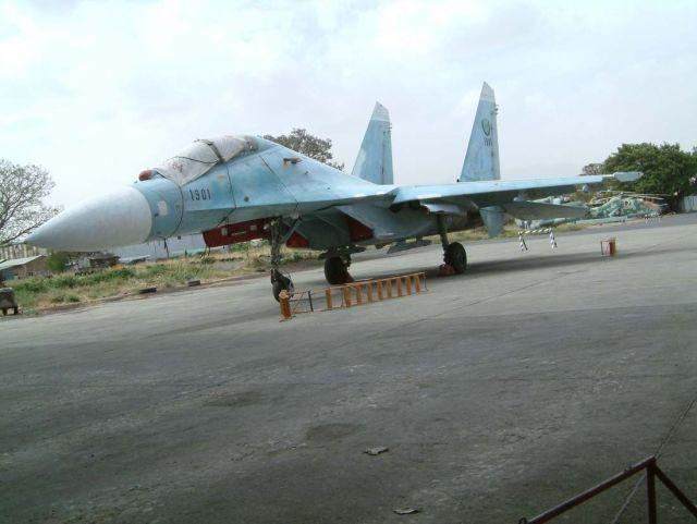 Su 27UB Ethiopian - Acidente com Su-27 da Força Aérea da Etiópia
