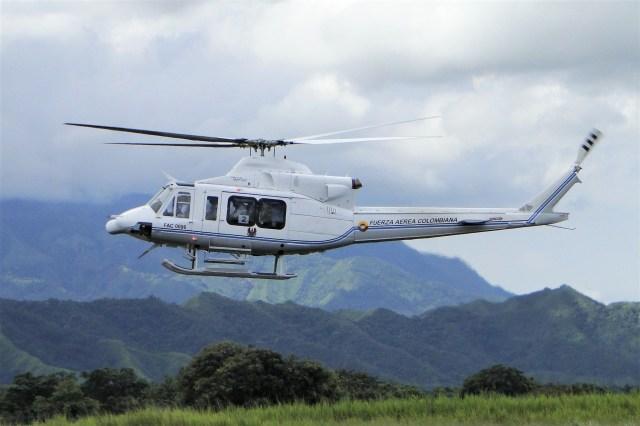 colombian air force helicopter crash kills all six on board - Acidente com helicóptero Bell 412 da Força Aérea Colombiana