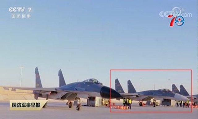 207256 1 - Caça chinês J-11B com radar AESA?