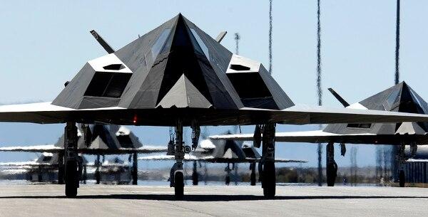 7PD7KLLBWZFWZCRAV44ELDAN6Y - Jato furtivo F-117 Nighthawk ficará exposto em biblioteca presidencial nos EUA