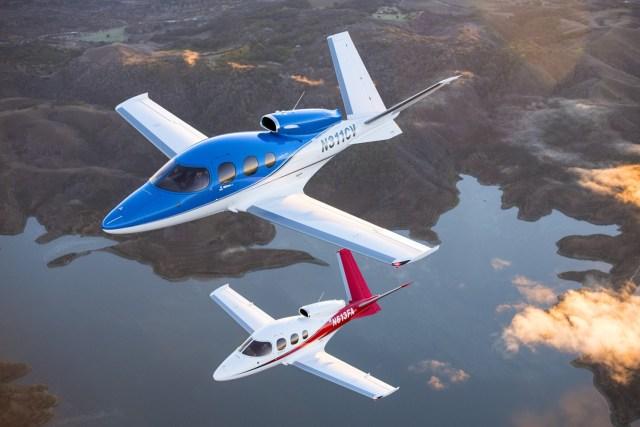 90 34 1 - Cirrus Vision Jet é o primeiro jato privado que pode pousar sozinho