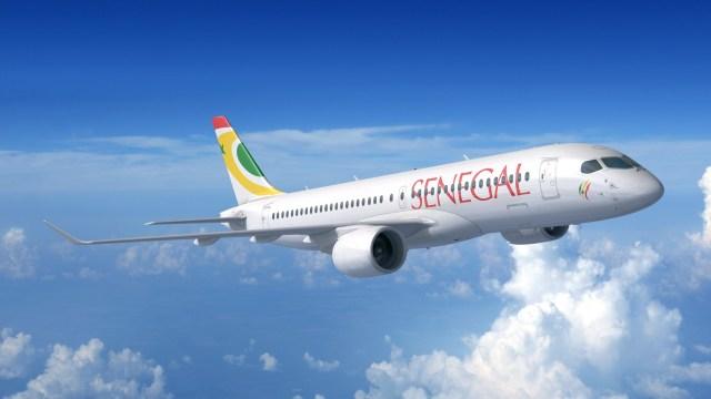 A220 300 Air Senegal - DUBAI AIRSHOW: Air Senegal aumentará sua frota com oito aeronaves Airbus A220