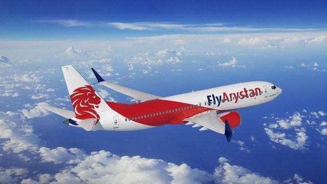 Boeing 737MAX FlyArystan scaled - DUBAI AIRSHOW: Boeing e Air Astana anunciam intenção de compra para 30 aviões 737 MAX