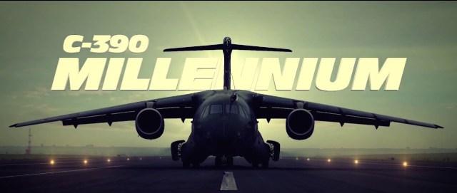 C 390 Millennium front - Boeing Embraer – Defense desenvolverá novos mercados para o C-390 Millennium