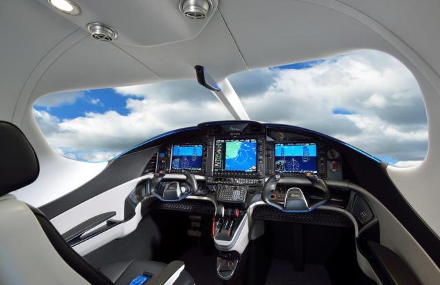 E1000 Panel 2 lores - Epic Aircraft recebe certificado do tipo da FAA para nova aeronave E1000