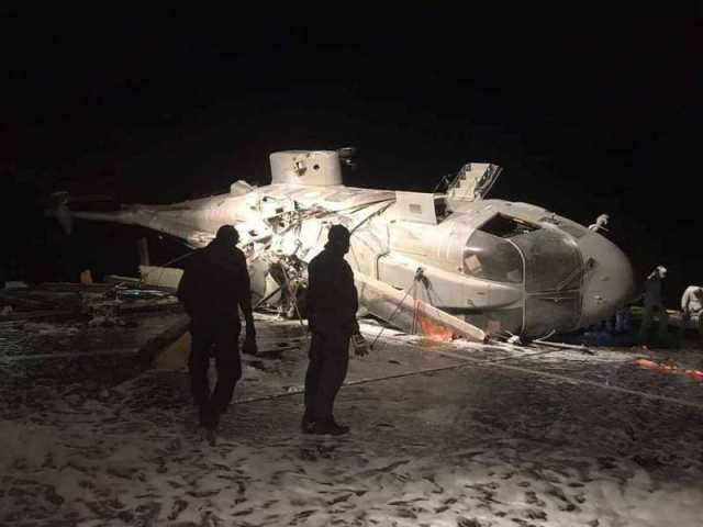 EIuQCGDX0AA2nJn - Acidente com helicóptero AW101 da Marinha Italiana