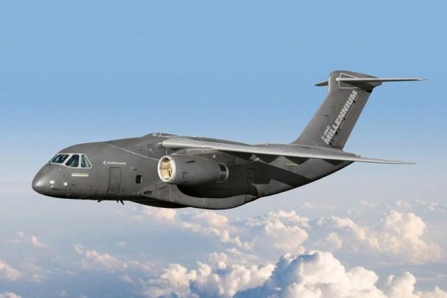 Embraer C 390 Millennium - Embraer divulga nome e designação de seu avião de transporte multimissão: C-390 Millennium