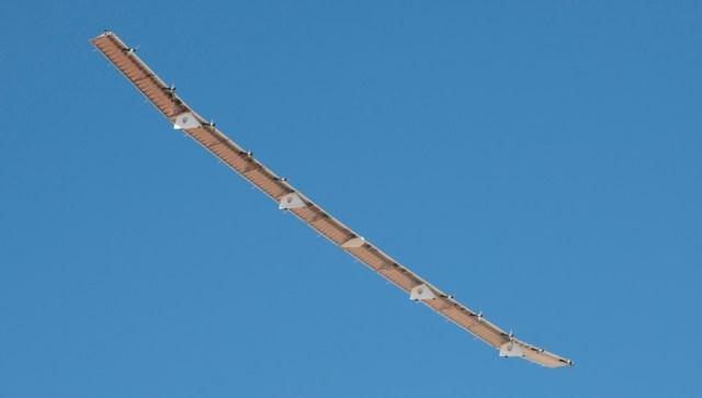 Hawk30 second flight 101 - Plataforma HAWK30 movida a energia solar realiza segundo voo de testes