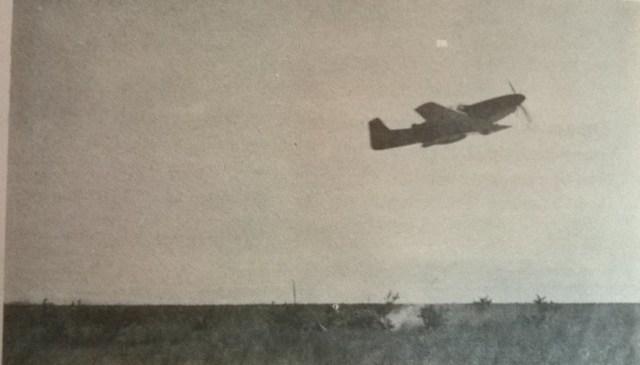 P 51 FAD ataque ao solo - P-51 Mustang operando com a Fuerza Aérea Dominicana