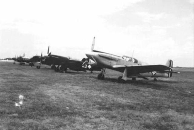 P 51 Mustang FAD - P-51 Mustang operando com a Fuerza Aérea Dominicana