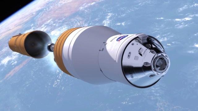 SLS Exploration Upper Stage NASA - NASA rejeita oferta da Blue Origin de estágio superior mais barato para o foguete SLS