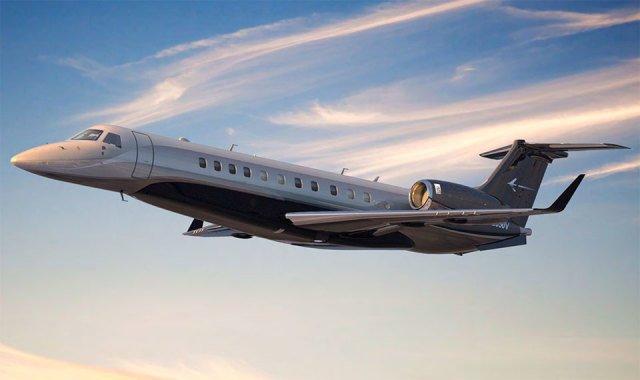 embraer legacy650e - Embraer autoriza Falcon Aviation a expandir suporte para Legacy 600/650 e Lineage em Dubai