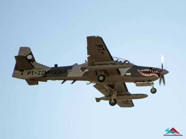 paf super tucano - IMAGENS: Primeiro A-29 Super Tucano da Força Aérea das Filipinas realiza voo de testes