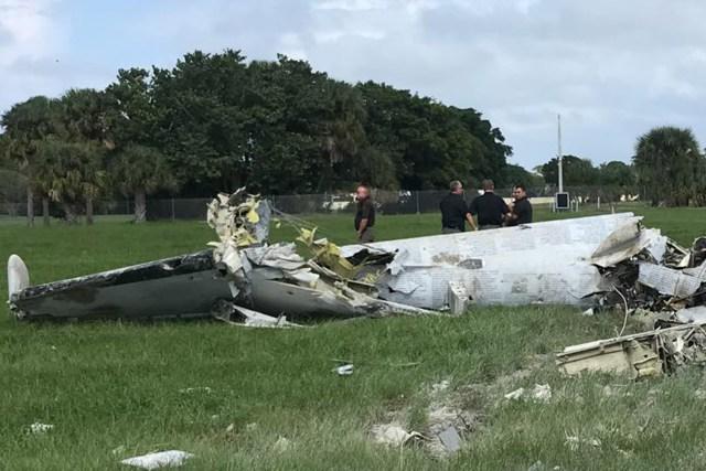 plane crash 86 - Acidente com OV-1 Mohawk em show aéreo nos EUA