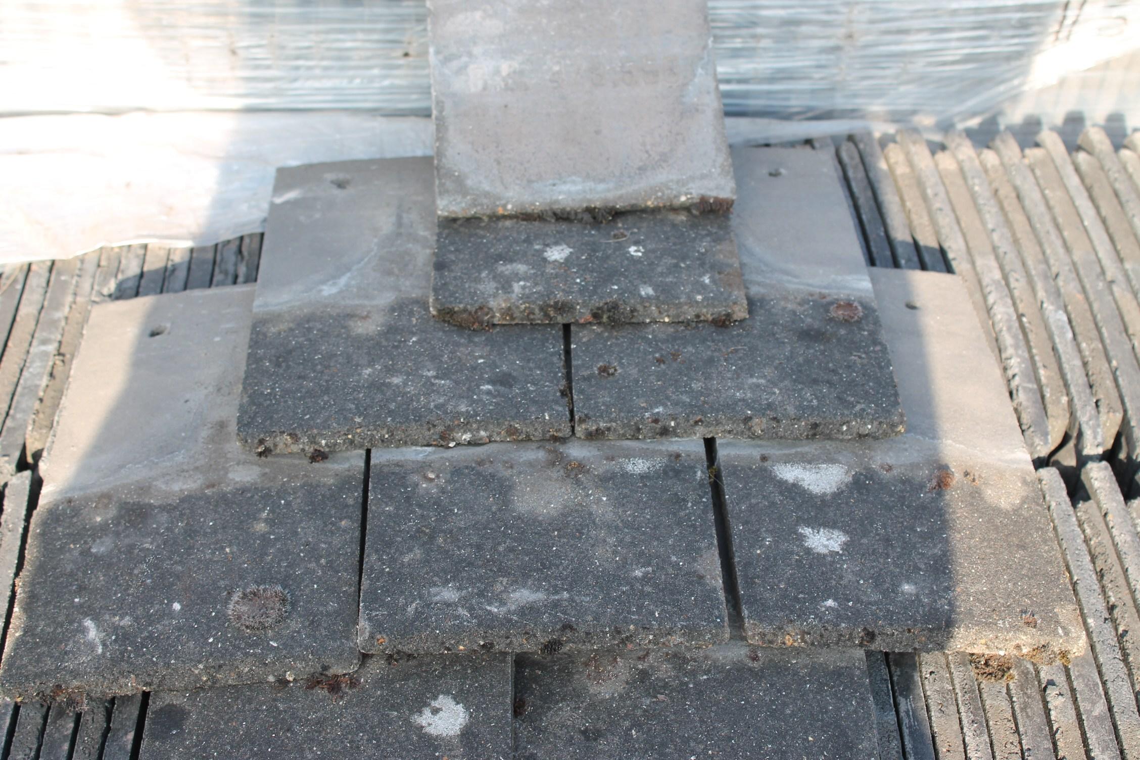 Reclaimed Redland Concrete Roof Tile 2 nib  Cawarden