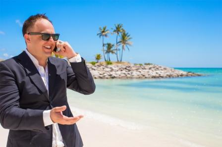 Investor on the Phone