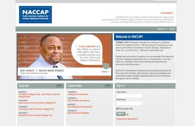 NACCAP Website