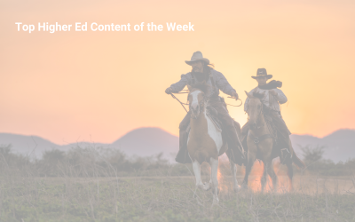 02/19/2021 Roundup: This Week's Best Higher Ed Marketing Content