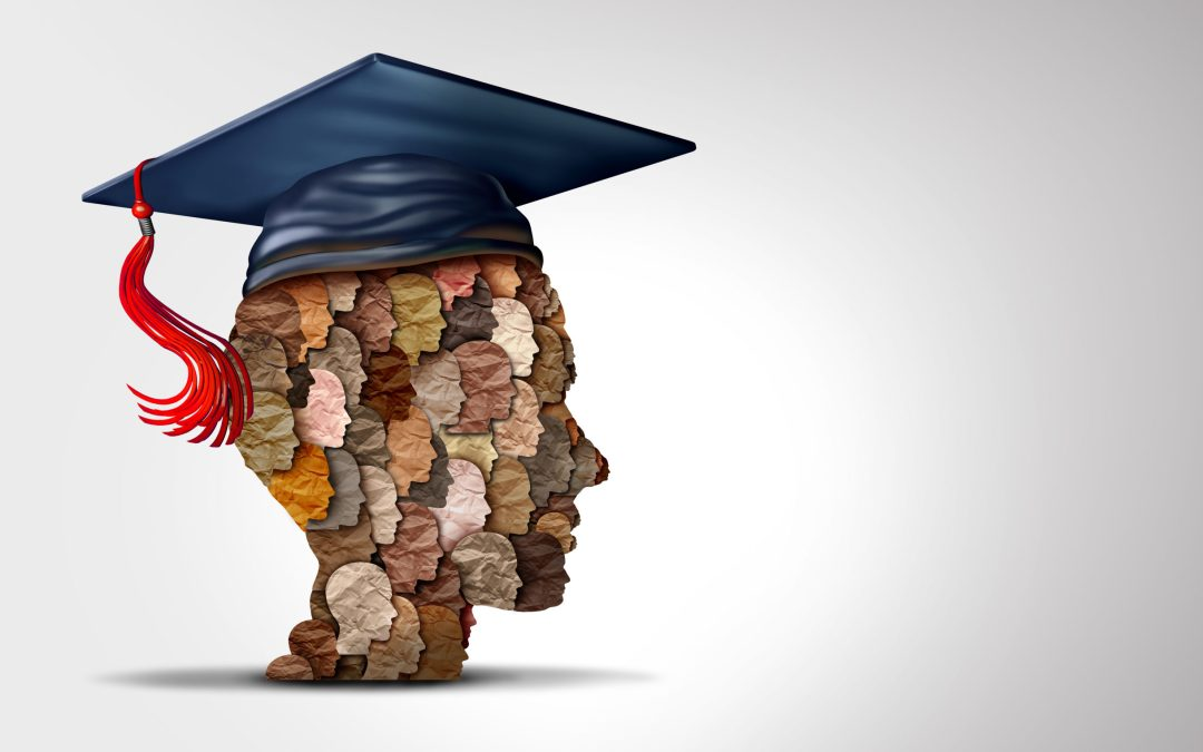 student profile with graduation cap - equity in education