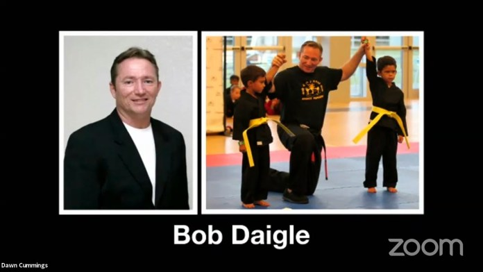 Bob Daigle Memorial Service