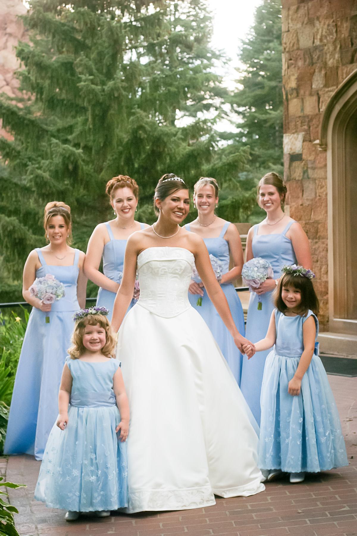 Fairy Tale Wedding At Glen Eyrie Castle Cayton Photography
