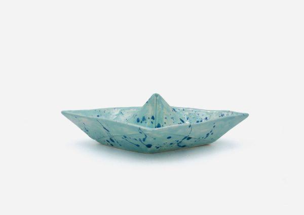 Barco. Aguas Dalmata Azul . (M)
