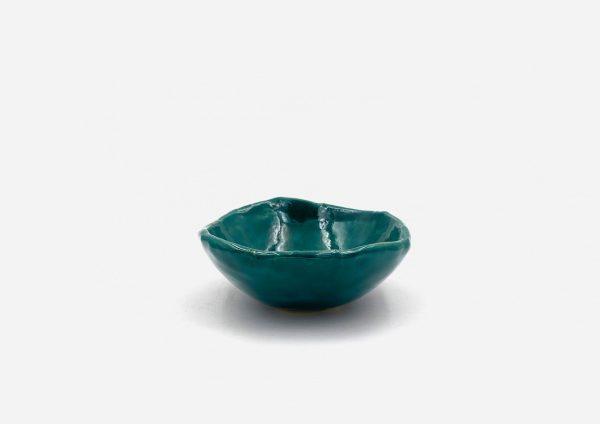 Bowl a Mano Liso. Esmeralda. (Xs)
