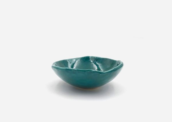 Bowl a Mano Liso. Esmeralda. (S)