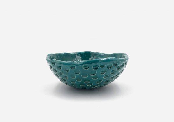 Bowl a Mano Lunas. Esmeralda. (M)