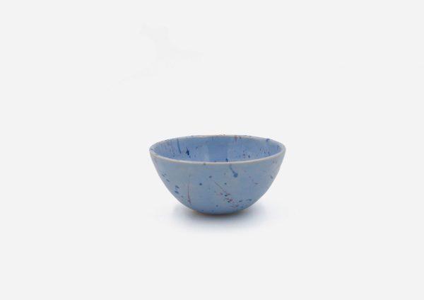 Bowl Con Molde. Lila Dalmata. (Xs)