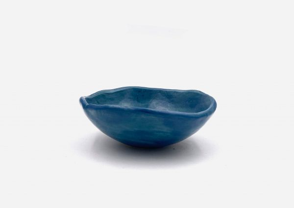 Bowl a Mano Liso. Azul Satin. (0)