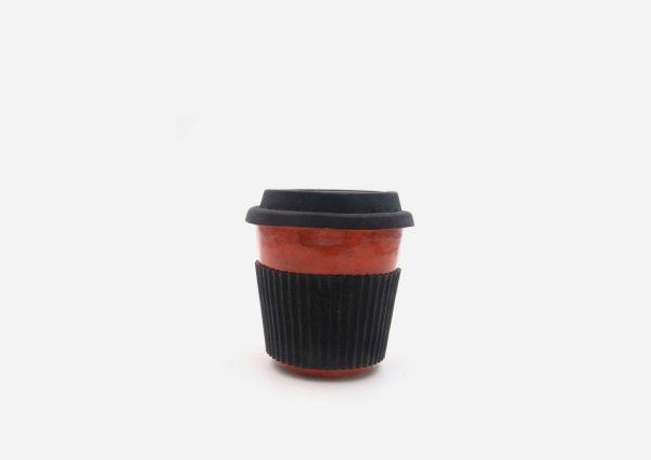 Keep Cup. Naranja Chispas. (S)